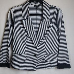 I.N. San Francisco Striped Blazer Size XL